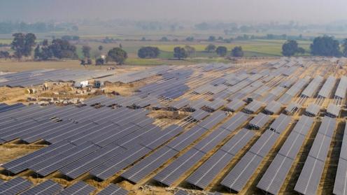 Solarpark, an dem ThomasLloyd beteiligt ist