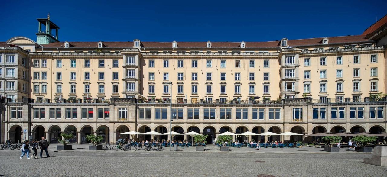 Foto des historischen Altmarkt Karree