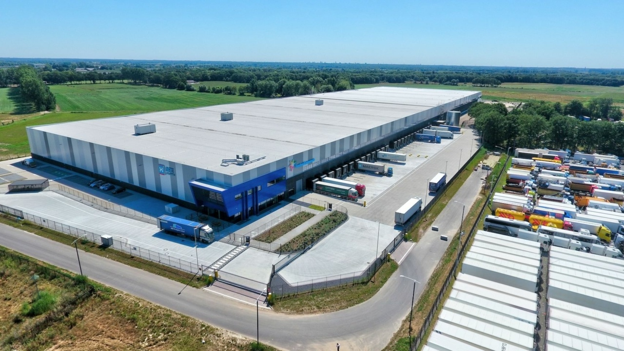 Neues Logistikzentrum von Patrizia in den Niederlanden