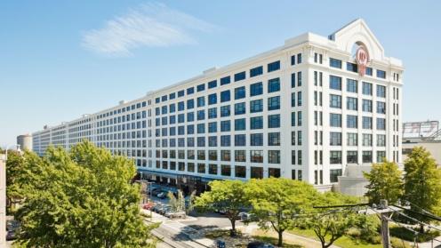 Das Investitionsobjekt von Jamestown in Boston ist über 400 Meter lang.