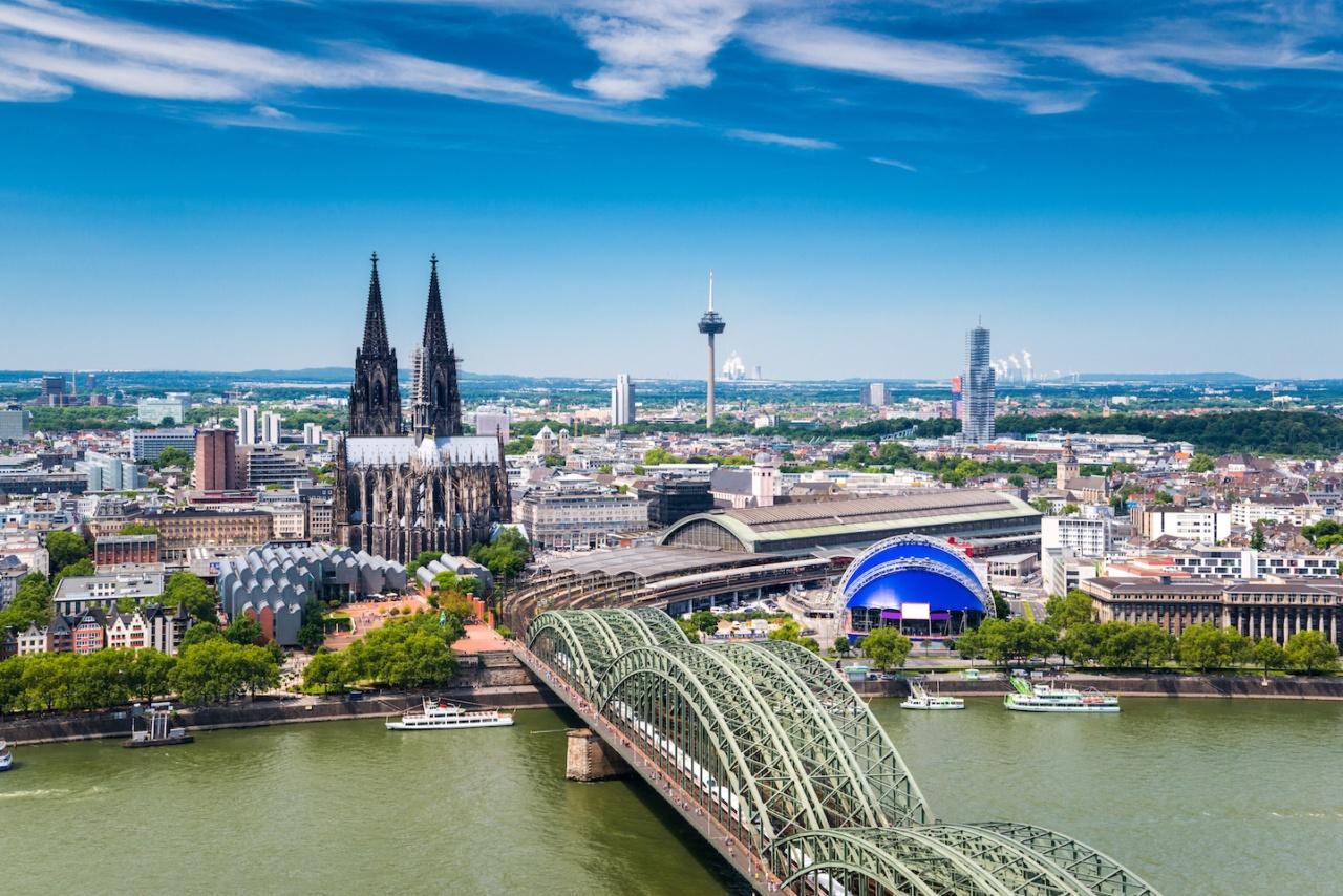 Luftaufnahme von Köln