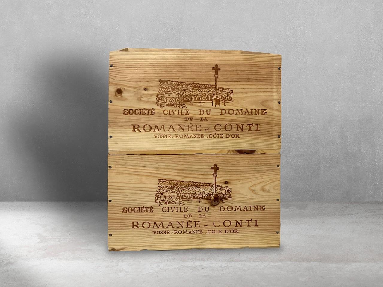 Holzkisten für den Wein von Finexity