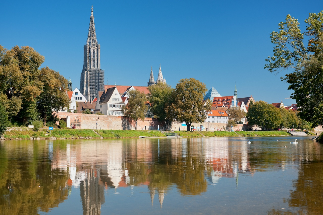 Symbolbild: Blick über die Donau auf Ulm