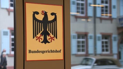 BGH-Schild mit Bundesadler