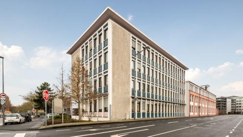 Bürohaus mit 50er-Jahre-Charme der Deutsche Investment