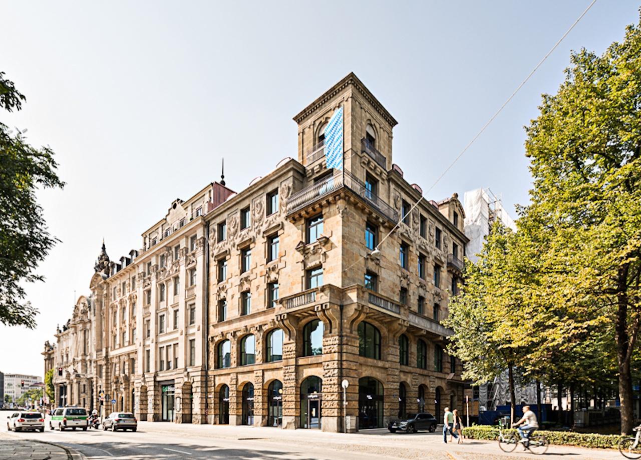 Das von Patrizia erworbene Gebäude