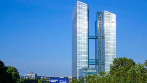 Die von Commerz Real verkauften Bürotürme ragen weit in den Himmel