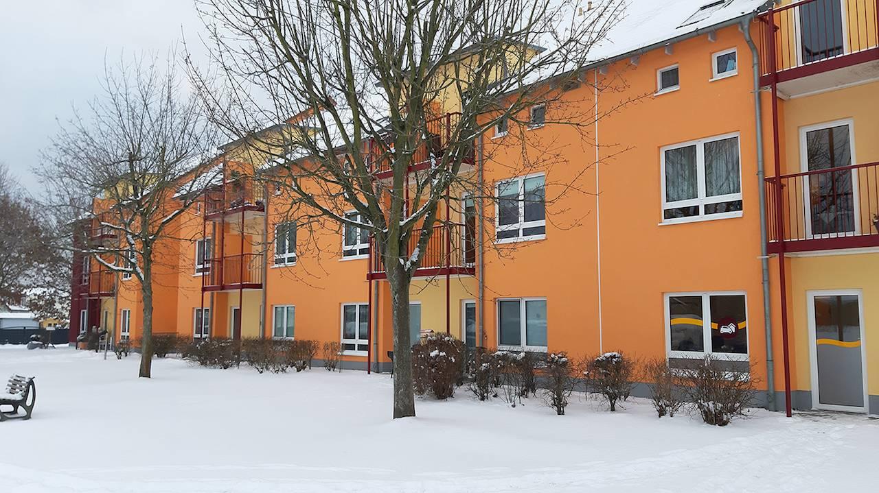 Objekt von Capital Bay in Eberswalde im Schnee