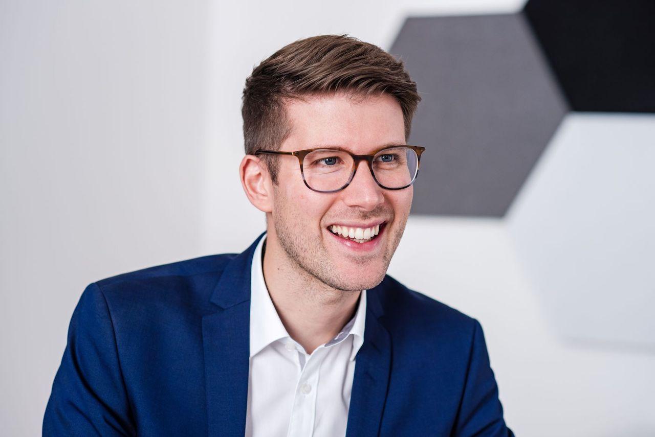 Kapilendo CEO Christopher Grätz Porträt