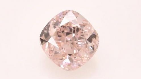 Großaufnahme des ersten Diamanten von Finexity