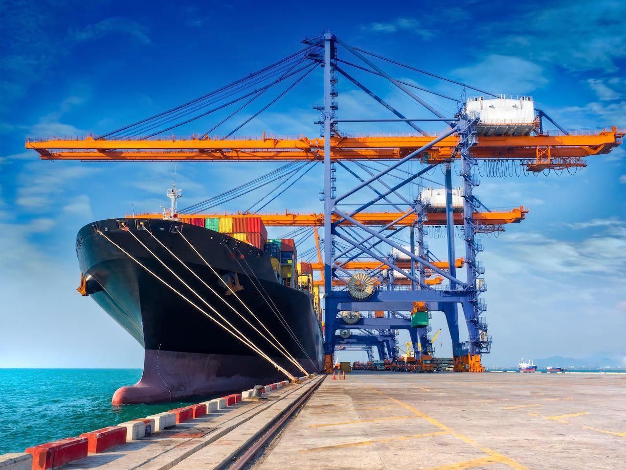 Zunehmend beliebt an der Fondsbörse: Containerschiffs wie dieses