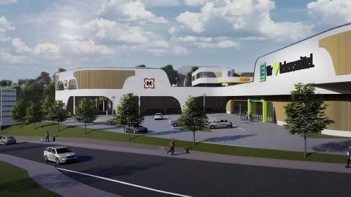 Visualisierung des 777 Capital Partners Projekts in Sulzbach