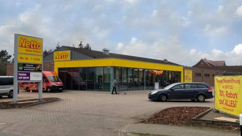 Netto-Markt in Wietzendorf von Dr. Peters