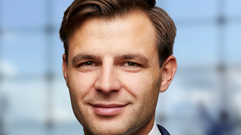 Porträtfoto von Tomasz Kalemba, Engel & Völkers Capital