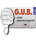 G.U.B.-Minus für Ecorab Private Real Estate