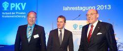 """PKV-Jahrestagung 2013: """"Mehr Kapitaldeckung wagen"""""""