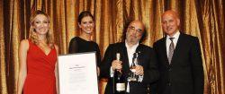 Alfred Platow als Man of the Year 2012 ausgezeichnet