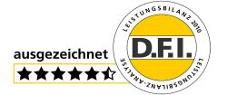 D.F.I. bestätigt ausgezeichnete Leistungsbilanz der Hansa Treuhand