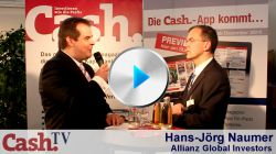 Interview auf der DKM 2011 mit Hans-Jörg Naumer, Allianz Global Investors