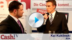 Live-Interview mit Kai Kuklinski von Axa Deutschland auf der DKM