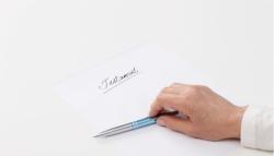 Testament: Auf einem eingerissenen Notizzettel wirksam?