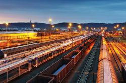 Gütertransport per Bahn weiter rückläufig