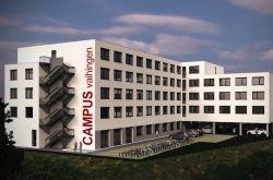 Bauvorhaben Campus Stuttgart vor dem Start