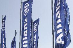 Quartalsüberschuss der Allianz sinkt drastisch