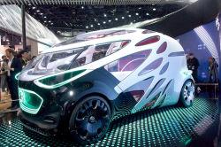 CES Las Vegas: Mercedes und Regisseur James Cameron entwickeln Avatar-Konzeptauto