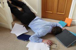 Homeoffice: Wann ist der Unfall ein Arbeitsunfall?