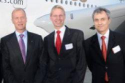 Jubiläums-Airbus für Doric und Hansa Treuhand