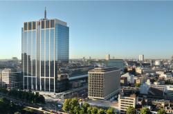 Mega-Transaktion mit Bürohochhaus in Brüssel