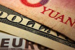 Chinas Devisenreserven fallen unter drei Billionen US-Dollar