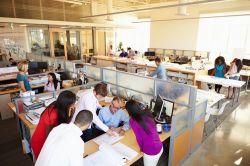 Frankfurter Markt für flexible Büroflächen hat niedrigste Rentabilität