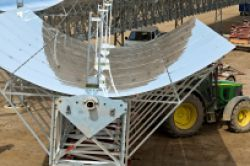 Fonds-Premiere von Solar Millennium