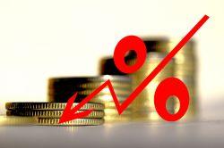 Sparer stellen sich auf Negativzinsen ein
