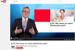 34i Gewo: Going Public informiert via Youtube