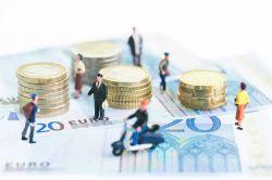 Viele Deutsche schätzen ihre Einkommensposition falsch ein