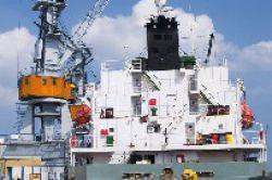 Zahl aufliegender Containerschiffe geht zurück