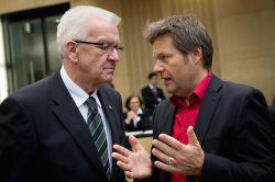 Enteignungen: Kretschmann distanziert sich von Habeck