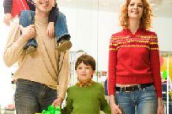 Junge Familien sind die Wunschnachbarn
