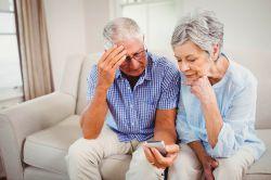 Knapper als gedacht: Arme junge Rentner