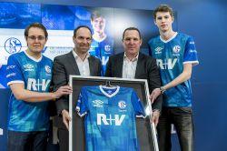 R+V wird Hauptsponsor des FC Schalke 04 Esports