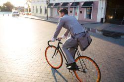 GUV: Dienstfahrräder nur für Unfälle auf dem Dienstweg versichert