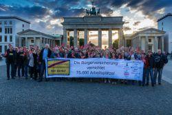 Demo gegen Bürgerversicherung in Berlin