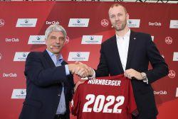 Trotz 2. Liga: Die Nürnberger bleibt der Sponsor des 1. FC Nürnberg
