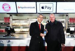 Hypo Vereinsbank und FC Bayern führen Apple Pay ein