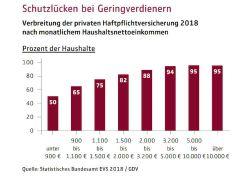 Versicherungssuchtz in Deutschland: Jeder fünfte Haushalt besitzt keine Haftpflichtversicherung