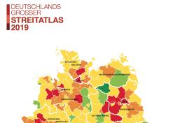 Streitatlas 2019: Wo sich Deutschland zofft