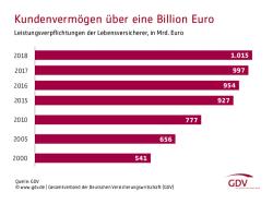 Lebensversicherer zahlen fast 79 Milliarden Euro an Kunden aus